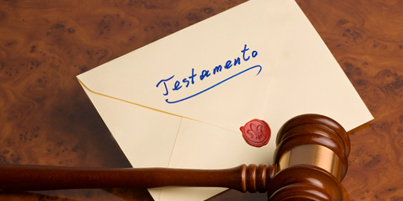 Sucesión testamentaria, testamentos y legados
